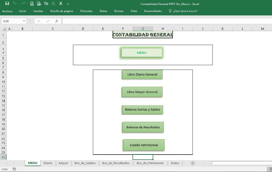 Excel: Cursos y Plantillas Contables