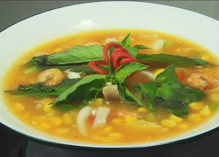Resep Sehat Sup Jagung Manis