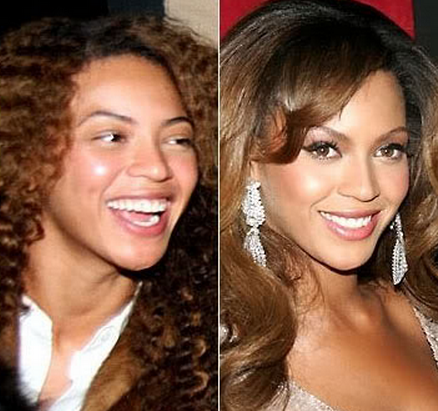 Beyonce Knowless Tanpa Make Up