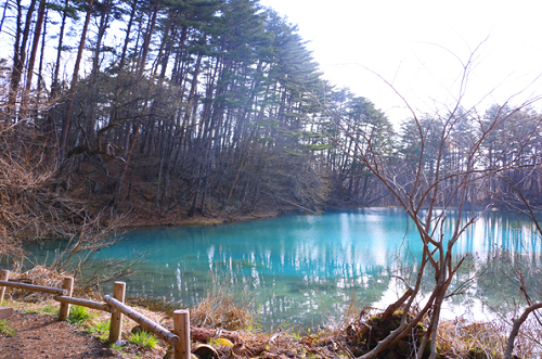 Japan Tourism: Fukushima with beautiful blue lakes