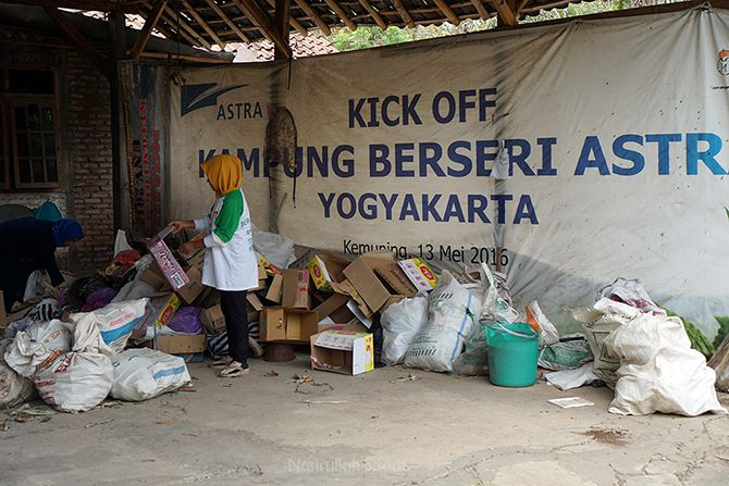 Program Bank Sampah di Kampung Kemuning