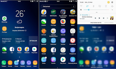 Custom rom Wycked v2 Samsung Galaxy j5