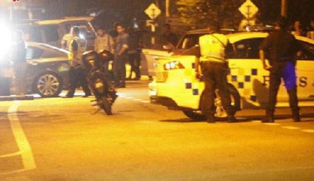Empat Penjenayah Maut Berbalas Tembak Dengan Polis
