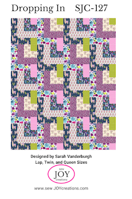 Dropping In quilt Sew Joy Creations
