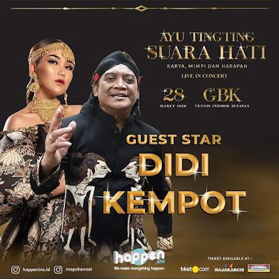 Konser Ambyar Didi Kempot Suara Hati GBK Jakarta