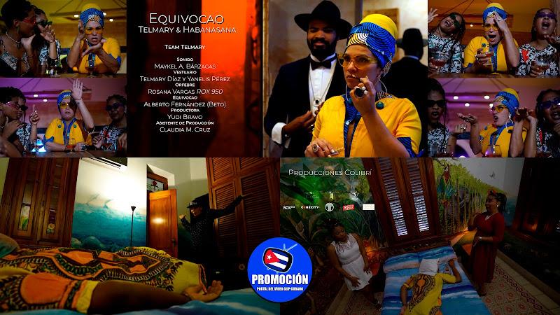 Telmary & HabanaSana - ¨Equivocao 8.6¨ - Videoclip - Dirección: Michel Pardo - Luis Toledo. Portal Del Vídeo Clip Cubano. Música popular cubana. Cuba.