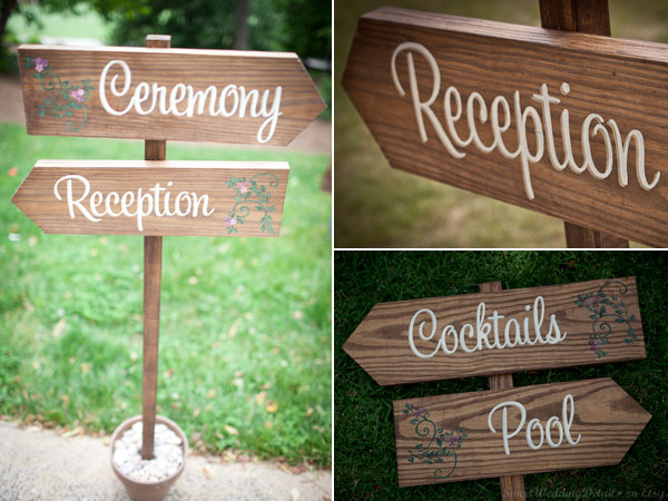 She Used These Wedding Signs On Her Recently And People Really Liked