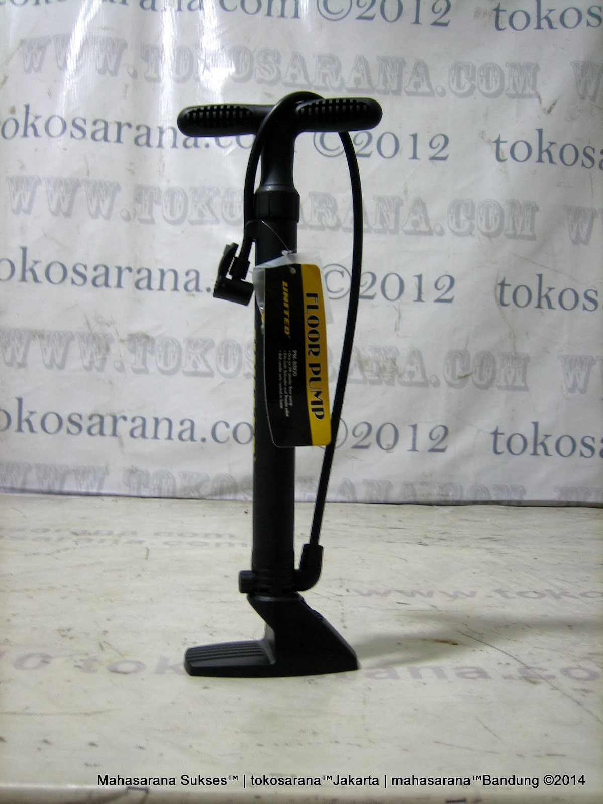 Pompa Sepeda United Component PM880 Floor Pump