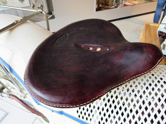 The Majestic Motorcycle Rider's Seat