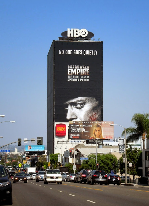 Giant Boardwalk Empire final season 5 billboard