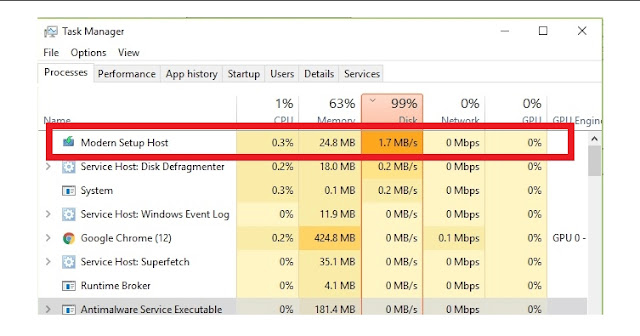 What is Modern Setup Host & How to Fix High CPU Usage in Windows 10