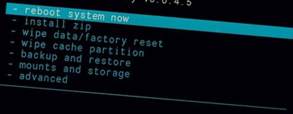 Reboot system now huawei