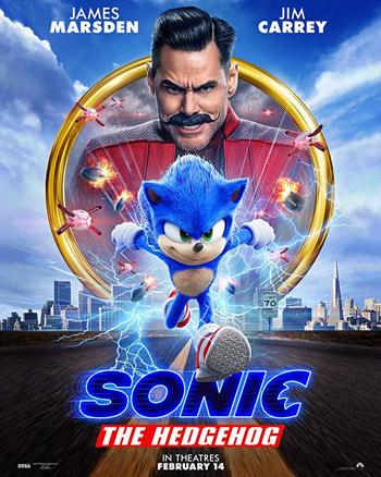 Sonic the Hedgehog 2020 English 480p BluRay 400MB ESubs poster
