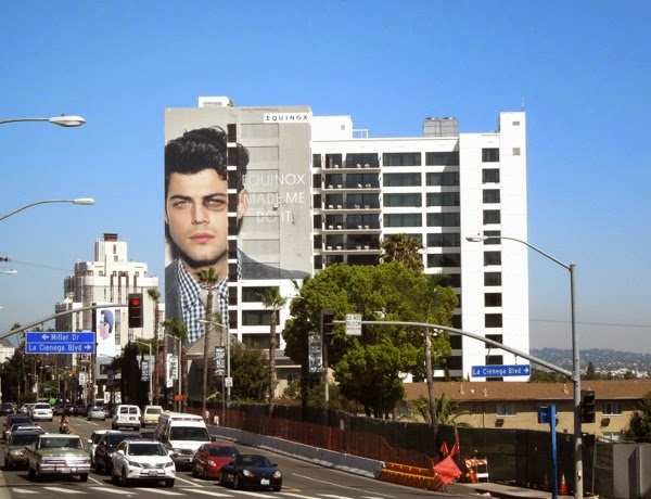 Giant Equinox Made me do it Black eye billboard Sunset Strip
