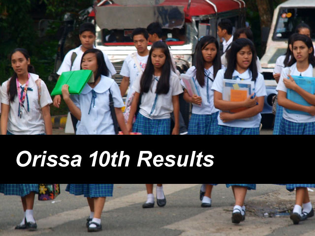 Orissa 10th Result 2018 Odisha Board SSC Results To Be Declared