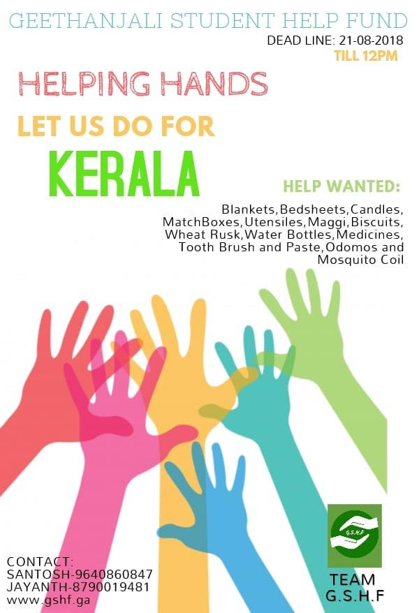 Lets Do for Kerala - Contribute Yourself