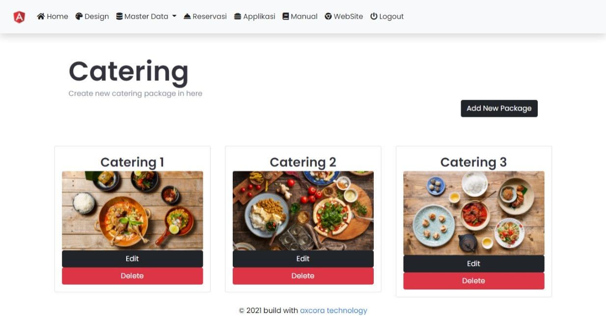 website cafe rumah makan restoran