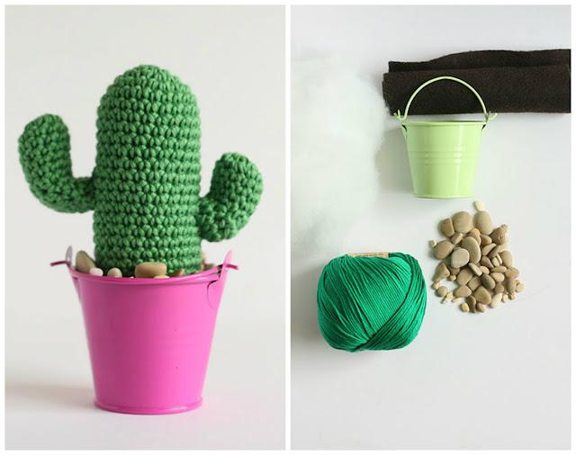 Handmade DIY Saguaro cactus kit