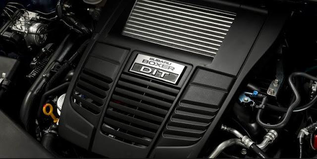 2017 Subaru STI WRX S4 TS Engine