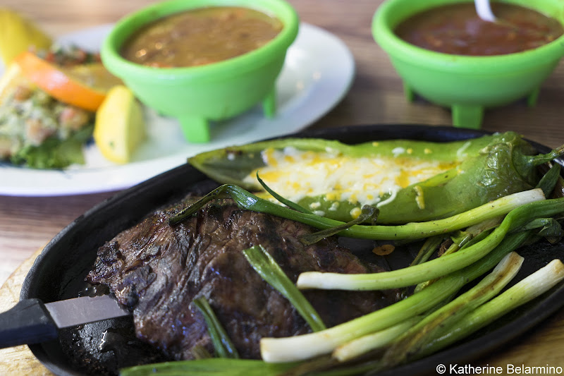 Arrachera Sonorense Duron's El Zarape Grille Best Mexican Restaurants in Yuma AZ