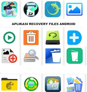 Aplikasi untuk mengembalikan file yang terhapus di android
