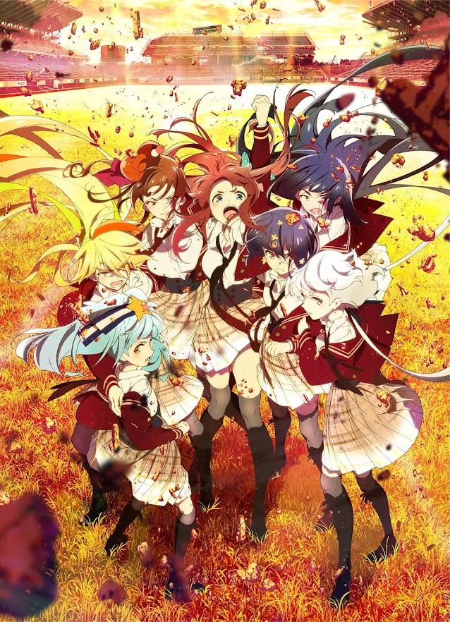 Póster del anime Zombie Land Saga Revenge