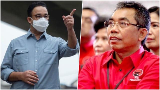 PDIP Buka Peluang Usung Anies di Pilkada DKI