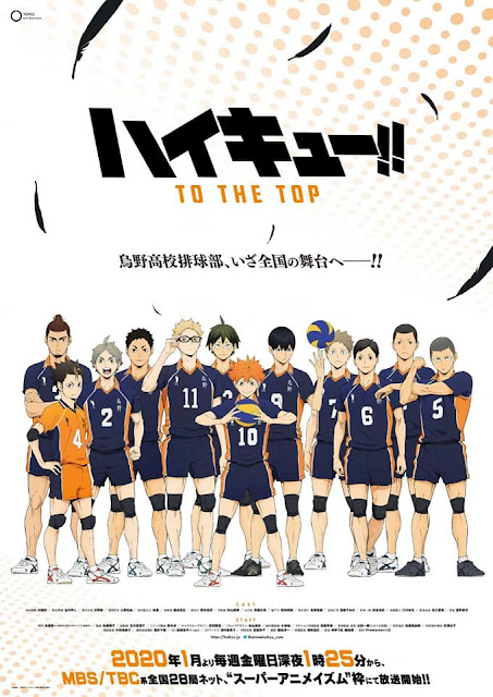 Haikyuu!! Season 4: To the Top Poster