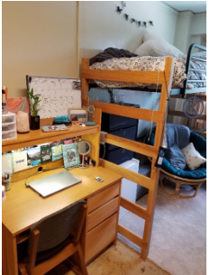 meredith room with double lofted beds