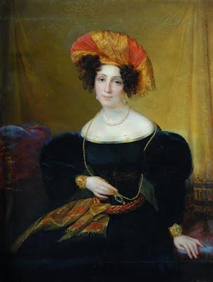 François-Joseph Kinsoen - Mlle Mars - Entre 1830 et 1835 - Barnard Castle - Royaume Uni.
