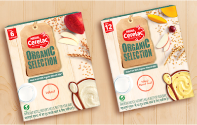 Nestlé CERELAC Organic Selection Wheat Cereal For the Babies of Age 6 to 12 Months