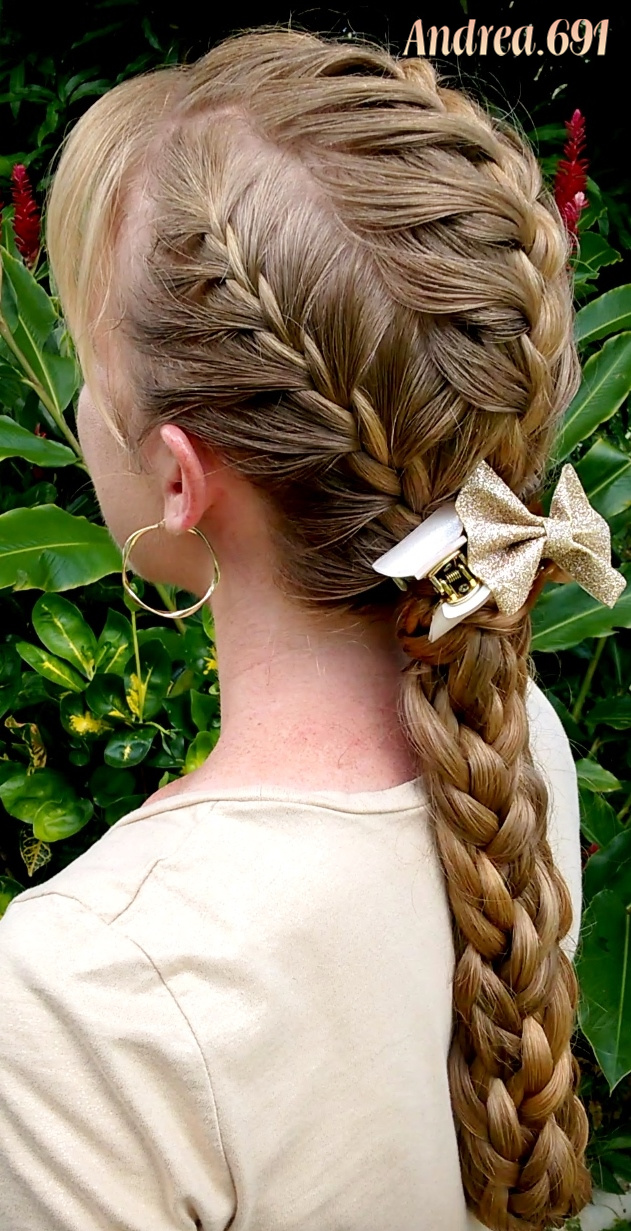 Braids   Hairstyles for Super Long Hair  Grazie mille for French braids  Today my hairstyle is three French braids with the lengths braided together  in one braid  I know I say this often  but I love this hairstyle