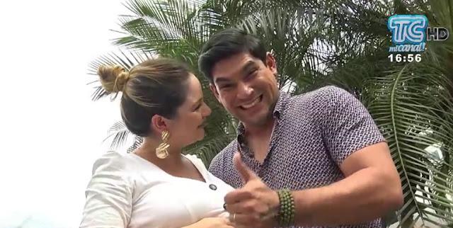 Emilio Pinargote tendrá otro hijo