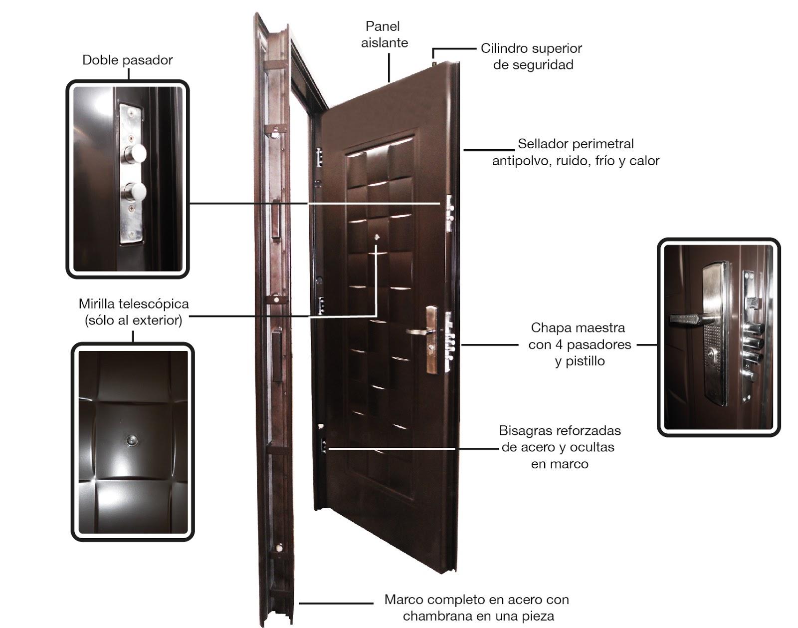 XE Seguridad - Puertas Residenciales de Alta Seguridad | Expo Ambientes