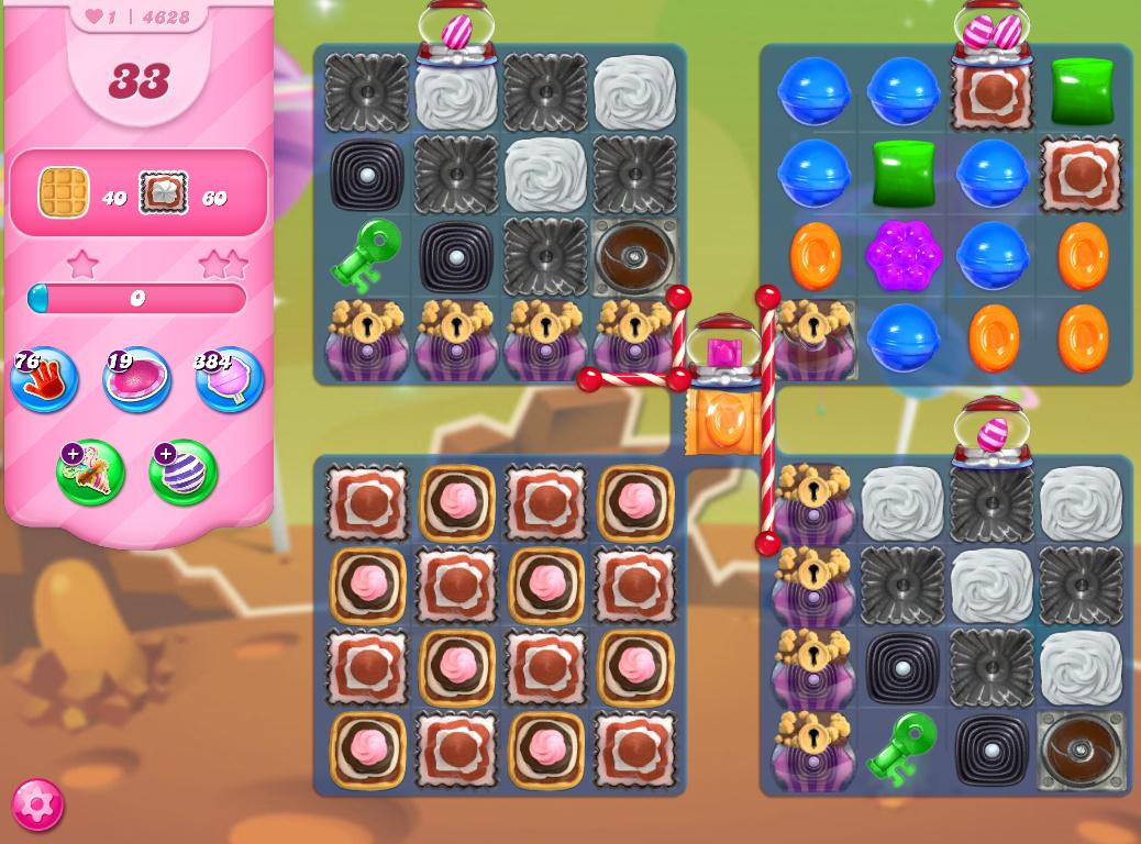 Candy Crush Saga level 4628