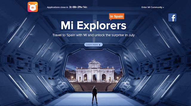 Mi Explorer Ajak Mi Fans ke Spanyol Gratis