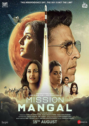 Mission Mangal 2019 Full Hindi Movie Download HDRip 720p