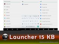 Hanya 15 KB, ini Launcher Lite Android Paling Ringan Simpel Cocok Untuk Ram Kecil!