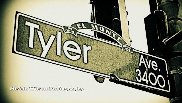 Tyler Avenue, El Monte, California by Mistah Wilson