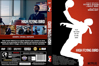 CARATULA HIGH FLYING BIRD - 2019 [NETFLIX COVER]