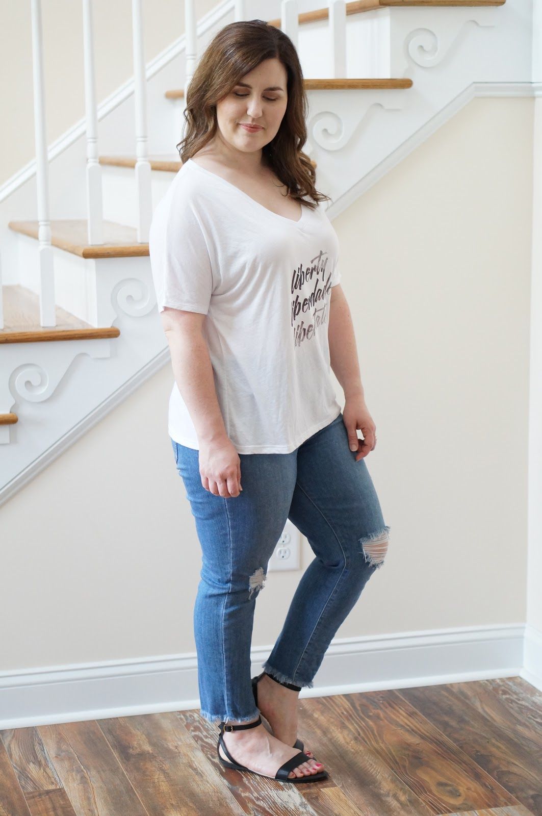 Popular North Carolina style blogger Rebecca Lately shares her collection of Sevenly tees. Click here to read and support Anti-Human Trafficking month!