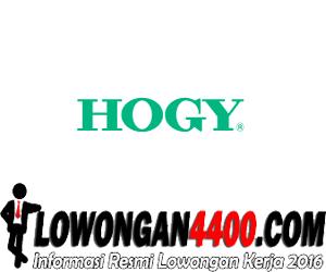 Lowongan PT Hogy Indonesia Oktober 2016