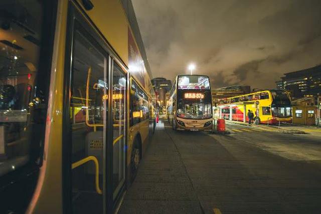 ilustrasi terminal bus
