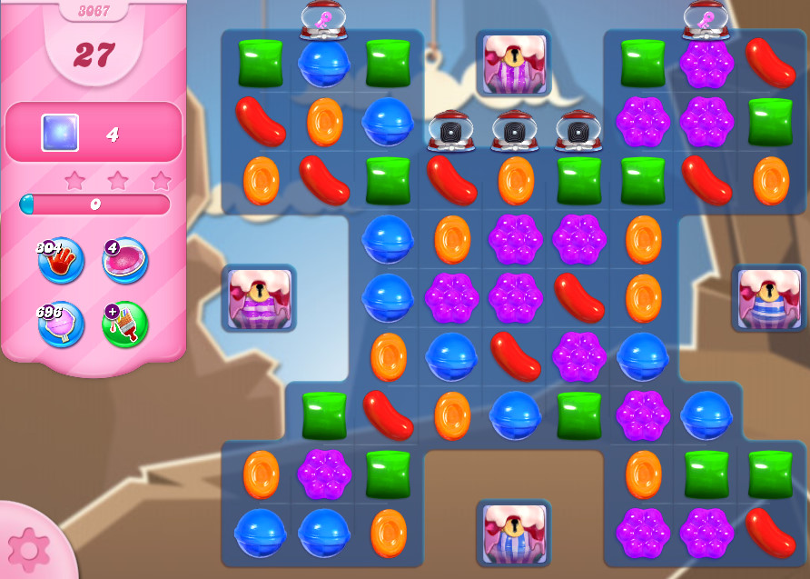 Candy Crush Saga level 3067