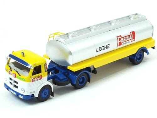 pegaso 2030 1/43 leche pascual, coleção caminhões articulados altaya, coleção caminhões articulados planeta deagostini, coleção caminhões articulados 1:43