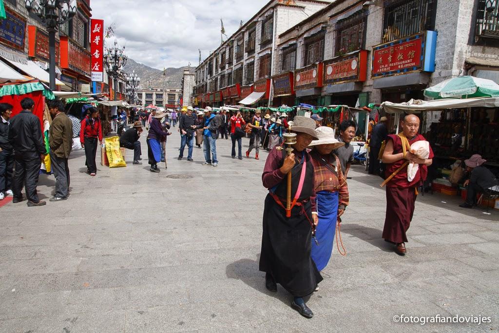 Barkhor en Lhasa Tibet