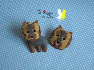 broche-perrito-personalizado-fieltro-Yorkshire-elbosquedelulu-hechoamanoparati