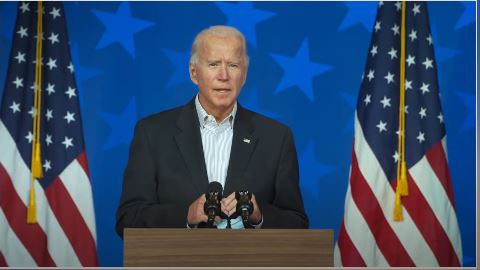 Biden that can bring a period of sobriety