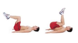 Reverse Crunch Exercise