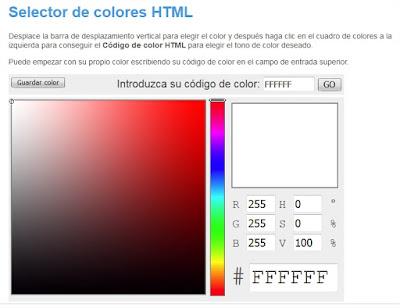 http://html-color-codes.info/codigos-de-colores-hexadecimales/